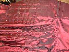 pleats in process