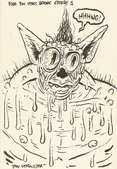Yoda sketchbook Vol. 2 page 2 - Jon Vermilyea