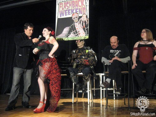 The fabulous Zombie Pinup Beauty Pageant at Flashback Weekend 2008