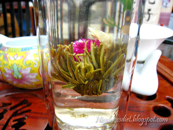 blossoming tea