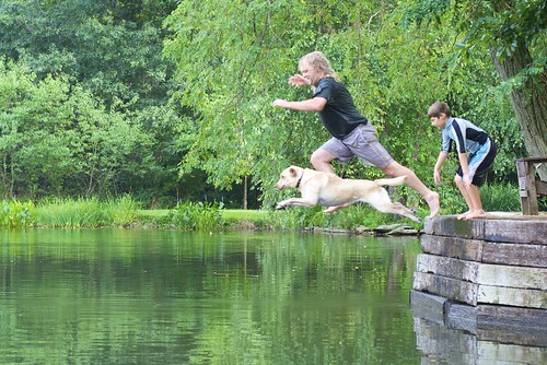 Long Jumping into the Pond