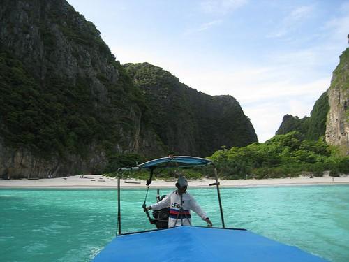 Leaving Maya Bay (aka The Beach)