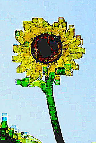 Cubist Sunflower 4.1