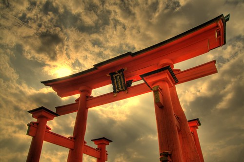 Otori @ Itsukushima Jinja 厳島神社大鳥居