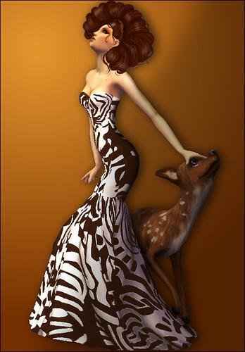 because models lurrv de animales...