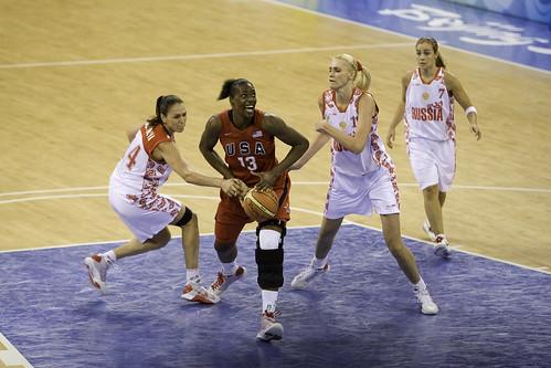 Beijing Day 6 — Basketball USA v RUS — 116