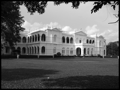 Colombo Museum Black White
