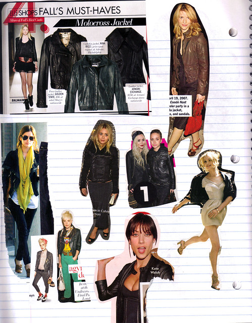 in search of the perfect leather jacket for fall '08 by {KH}