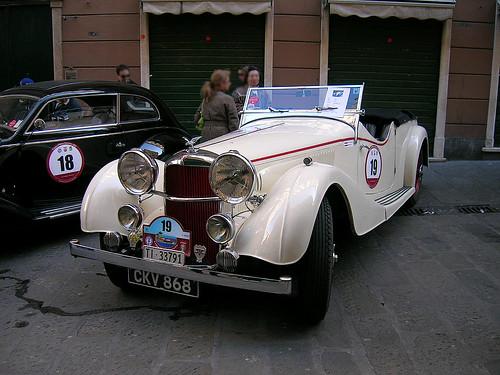 Alvis Speed 25 1937 por Maurizio Boi.