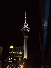 Sky Tower, Island (- MattW -) Tags: newzealand travelling auckland backpacking northisland skytower kiwi aotearoa backpackingnewzealand