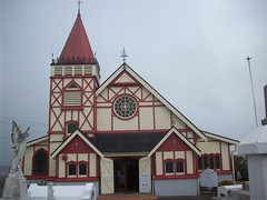 Church in Maori village, Rotorua (- MattW -) Tags: new travelling church rotorua village zealand backpacking northisland maori kiwi