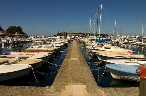 Kikötő, Porec