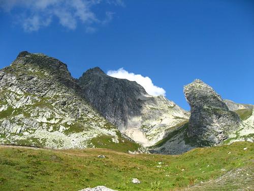 Près du Col du Grand Saint Bernard