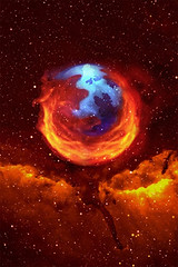 Mozilla Firefox iPhone wallpaper background