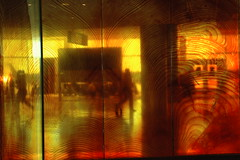 As Through a Glass Darkly (Wonderlane) Tags: seattle lighting trip travel light red people abstract motion blur color reflection art public glass publicspace photography gold flying airport soft mood place time fineart landing plastic refraction change coloredlights glowing publicart through traveling transparent transition washingtonstate distance dimension effect takeoff freedomofinformation zone artworks darkly seattleairport holographic filtered engineeringasart straightphotography communcation wonderlane lightingeffect 3492 woodeffect straightshots treetheme travellights artpanels coloredartpanels transparentcoloredpanel