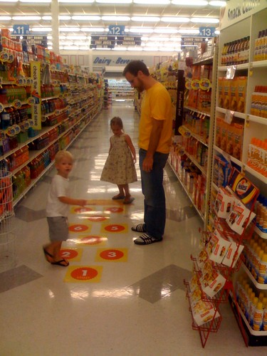 Grocery hopscotch 1