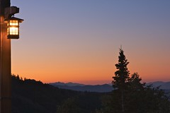 Park City Sunset (jhwill) Tags: trees sunset summer mountains landscape ilovenature utah parkcity 2470l gaslight deervalley naturesgallery canon40d landscapedreams