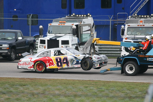 84 Getting towed away