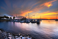 Burlington Boathouse by photobyaaron