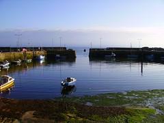 29-aug-08-monans-01 (chablue1) Tags: ocean sky saint boats scotland scenery fife forth cha firth monans