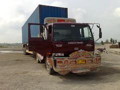 Rajan pur (~Jazib e MaHek~) Tags: road pakistan red art love nissan container pakistani stay shah sajjad rajanpur peshawer nokia95 pkd411 2306z