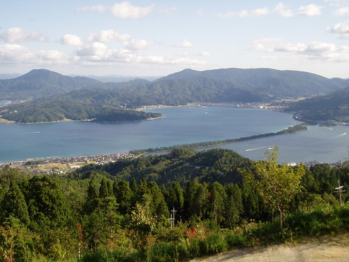 成相寺展望台からの大パノラマ