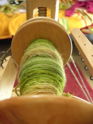 Kromiski Minstrel spinning wheel