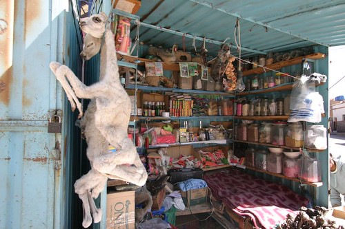 A weird shop altogether. Potosi, Bolivia