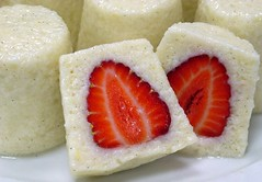 strawberry & semolina flan (Peter Arthold) Tags: dessert strawberry flan semolina