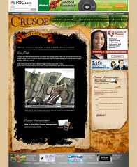 NBC's Crusoe Microsite With Live Streaming Video