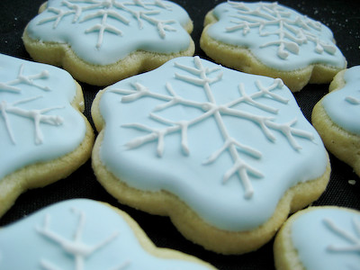 Glaze recipe for decorated cookies
