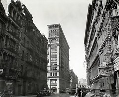 Broadway near Broome Street, Manhattan. by Berenice Abbott, on Flickr