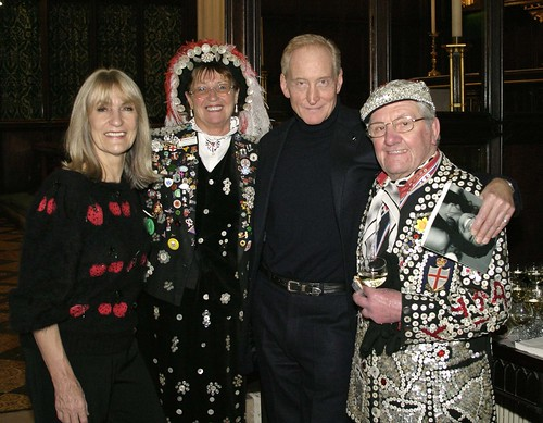 Pearly King & Queen, Lynn Faulds Wood & Charles Dance