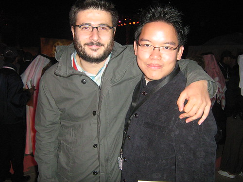 "With Cem Oztüfekçi (""Downstairs""), Dubai Film Fest 2008 Closing Ceremony"