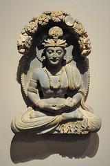 Siddhartha Meditating below the Jambu Tree (mark6mauno) Tags: sculpture tree simon museum nikon norton meditating below pasadena nikkor jambu d3 siddhartha schist nortonsimonmuseum nikond3 2470mmf28g