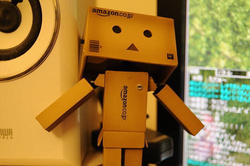 リボルテック ダンボー ミニ Danboard Amazon Box version