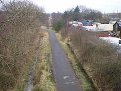 Forrestfield - 28-12-2008 (agcthoms) Tags: scotland lanarkshire abandonedrailway forrestfield