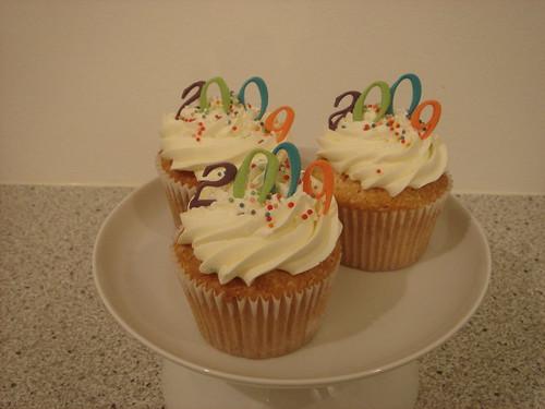 New Years cupcakes 2008/9