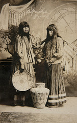 f_apachesquaws (ricksoloway) Tags: oldphotographs oldphotos nativeamericans americanindians photohistory vintagephotos foundphotos photographica rppc photopostcards phototrouvee realphotopostcards