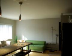 UrbaneApts / One Bedroom / Main (urbaneapts) Tags: urban colour green ikea kitchen modern