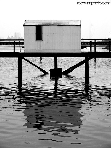 Wooden Hut On Pier. 10 of 365.