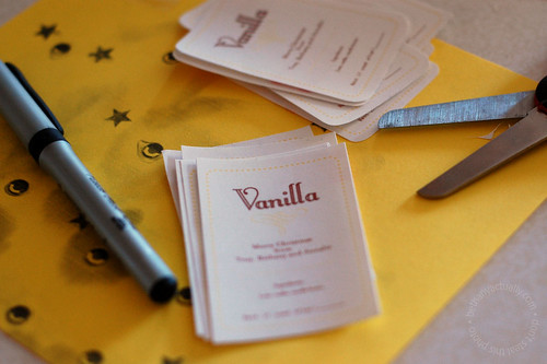 vanilla labels