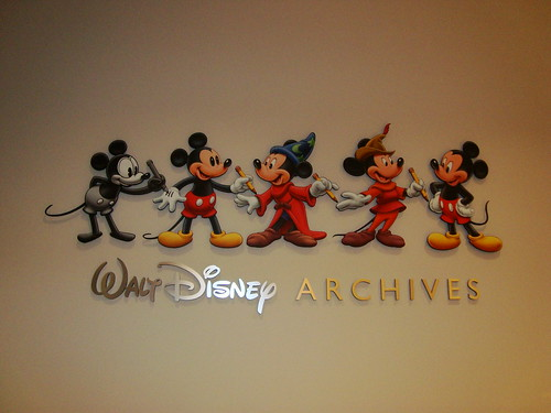 Disney Archives Sign