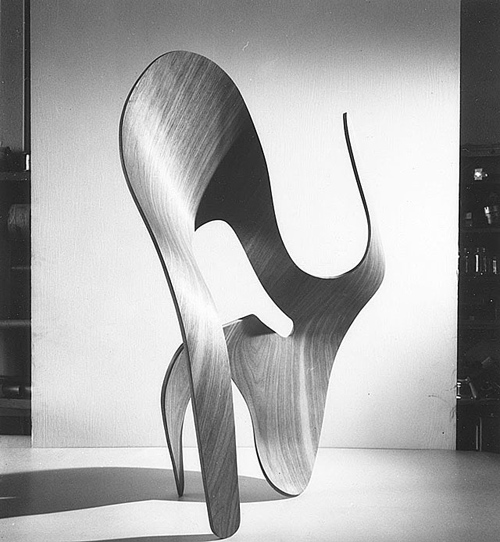 Eames - Moulded Plywood Sculpture