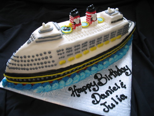 Cruise Ship Cake A Photo On Flickriver - Cruise ship cake