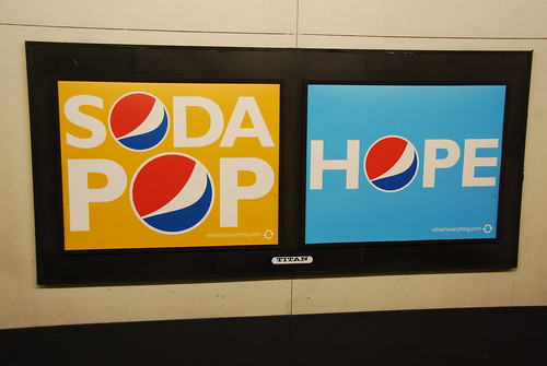 Hope is not Soda Pop by Steve Rhodes/Flickr