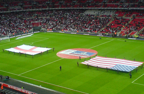 England v USA, Wembley
