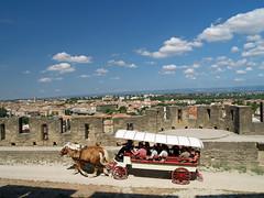 paseo (Aneto_bcn) Tags: caballos carcassone castillo nwn carruaje