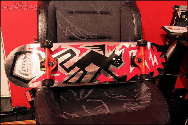 Bam Element Fiberlight Skate Set up 2