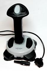 The PC joystick and DIN plug (anachrocomputer) Tags: make car analog conversion joystick dragon32 makezine homecomputer 6809